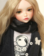1/6 scale nude BJD kid girl YOSD Joint doll Resin figure model toy 15 inch