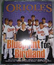 More details for baltimore orioles 1990 gameday program & scorecard, & 2008 gameday magazine