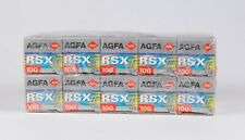 Pack of 10 Agfa AGFACHROME RSX II 120 slide Film 12 Exp., Expired 10.2002