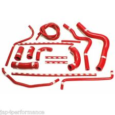 Yamaha YZF 1000 R1 2004 - 2006 samco coolant hose kit red