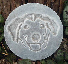 Multi breed dog mold garden ornament plaster concrete casting mould