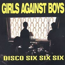 Disco Six Six Six [EP] by Girls Against Boys (CD, Oct-1996, Touch & Go (Label))