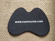 Kayak canoe rowing shell butt pad seat cushion stick on