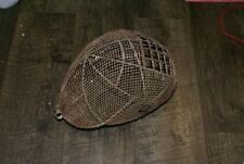 Primitive Antique Metal Wire Protective Fencing Mask Halloween accessories
