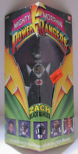 Power Rangers - Original - Zach - (black) 8? - Triangle Box