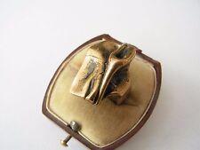 Con menos frecuencia Designer anillo bronce firmados engla