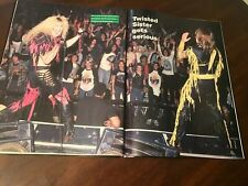 1986 Vintage 5Pg Print Article/Photos On Twisted Sister Gets Serious Dee Snider