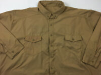 OBERON Mens NEW Arc 8 GOLD Shirt Category 2 Electric Arc Flash Shirt Size 4XL