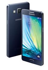 Used Samsung Galaxy A5 2015 Dual Sim 16GB 4G VoLTE Jio Black Smartphone Mobile