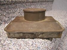 LEONARD ANTIQUE TIN BED FOOTWARMER