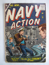 Navy Action #14 (August 1957, Atlas / Marvel) [VG 4.0]