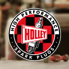 Holley Spark Plugs Sticker Autocollante Aufkleber Vergaser MOON Hot Rod