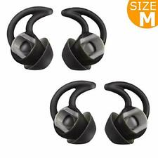 Silicone Earbuds Ear Tips Eargel Isolation Double Flange for Bose, Medium, 2Pair