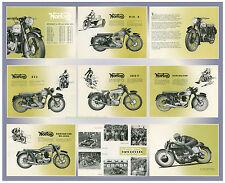 1953 Norton range Motorcycle poster