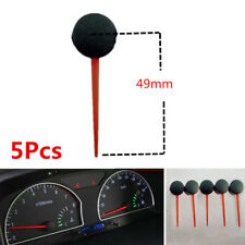5Pcs 49MM Length Universal Plastic Car Motorcycle Speedometer Needles Pointers