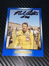 Neil Castles autographed MASTERS OF RACING #135 LEGENDS WINSTON CUP VINTAGE card