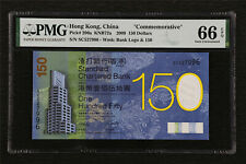 "2009 Hong Kong China ""Commemorative"" 150 Dollars Pick#296a PMG 66 EPQ Gem UNC"