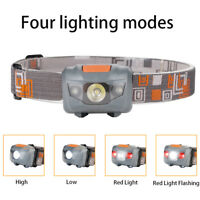 500LM Mini Headlight CREE R3 +2 LED Ultra Flashlight Headlamp Head Torch Lamp
