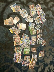 Lot of  1972 Sunoco football stamps