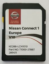 Carte SD GPS Europe 2020 V10 - Nissan Connect 1 - Database Q3.2018