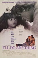MOVIE FILM POSTER - I'll Do Anything (1994) Nick Nolte Video Store (VERY GOOD)