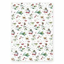 DANIELA DRESCHER*Winter/Weihnachten*Geschenkpapier 50 x 70cm*Wintervögel*