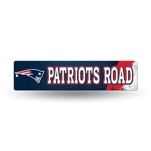 "New England Patriots Football 16"" Street Sign Fan Wall Decor"