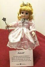 "10"" Porcelain Storybook Doll ~ Tinkerbell ~ 1998 Royalton ~ New in Box w/ Coa"