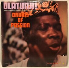 Olatunji! Drums Of Passion CL-1412 2eye Mono Record LP