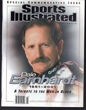 Sports Illustrated 2001 Dale Earnhardt Commemorative NR/Mint Newsstand Issue