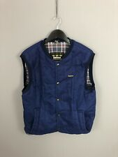 BARBOUR Quilted Gilet/Bodywarmer - Large - Blue - Great Condition - Mens