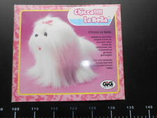 Chicca La Bella Gig Dog Walk Battery Operated new vintage Rare