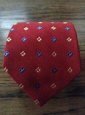 NWOT Ted Baker 100% Silk Red Christmas Tie