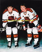 WAYNE GRETZKY & MARIO LEMIEUX Pose 4 Camera 1987 RENDEZ-VOUS 8x10 Photo HOF GR8S