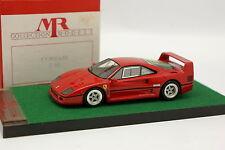 MR Models 1/43 - Ferrari F40 Rouge