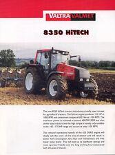 Valtra Valmet Tractors 8350 Hitech leaflet