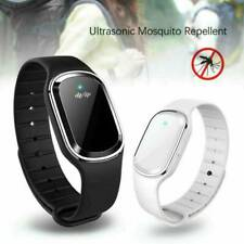 Ultrasonic Anti Mosquito Insect Pest Bug Repellent Bracelet Wrist Watch Care