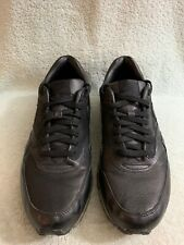 Nike Air Max 360 All Black Leather 318510-001 2008 Men's Sz 11