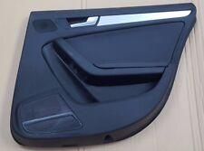 AUDI A5 SPORTBACK OS DRIVERS RIGHT REAR DOOR CARD RHD BLACK LEATHER