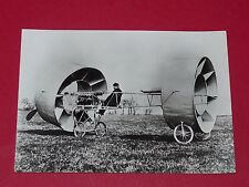 PHOTO AVIATION 1909 CLAUDE GIVAUDAN PIONNIERS DE L'AIR AEROPLANE