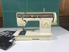 Rare singer sewing machine Zigzag model 1247, Professionally Serviced