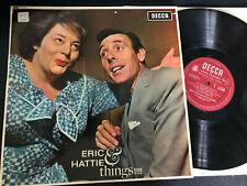 ERIC SYKES & HATTIE JAQUES - TITLE - UK DECCA 1A/1A  - MONO LP
