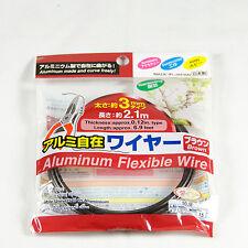 Japanese Dark Brown Bonsai Tree Training Wire  /  Bonsai Tree Tool - 3.0 mm