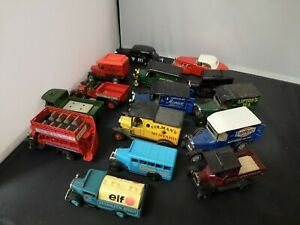 B610-LLEDO,OXFORD DIECAST LOT OF FIFTEEN PROMOTIONAL VEHICLES