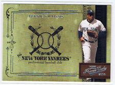 Bernie Williams 2004 Playoff Prime Cuts Baseball NY New York Yankees #d 209/699