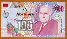 Ireland Northern Bank 100 pounds, 2005, P-209, UNC > Rare