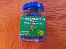Eureka Tub of Connecting Spelling 156 Piece Tiles ~ Classroom, Homeschool