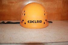 Ultralight Edelrid Climbing & Caving Helmet TC/H6 3 2007 Made in Germany Orange