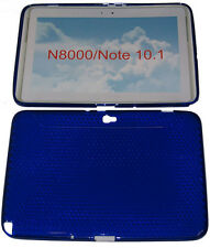 "Pattern Gel Case Protector Cover Blue For Samsung Galaxy Note 10.1"" N8000 N8010"