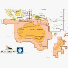 Navionics PLUS Australian & NZ Marine Navigation Charts & Maps with Green Zones